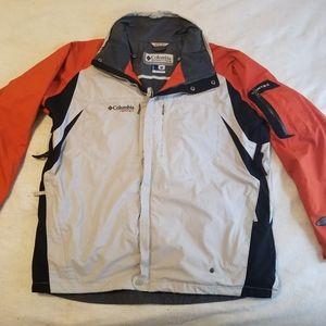 Men's Columbia Vertex Core Waterproof Rain Jacket